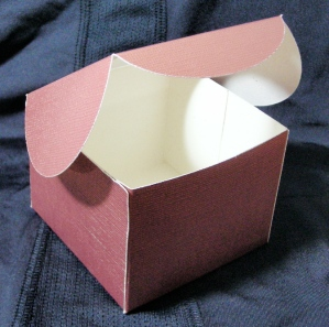 Cupcaks Candle Box A