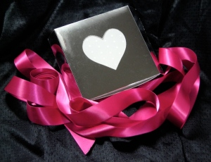 my Valentine box designed in SCAL